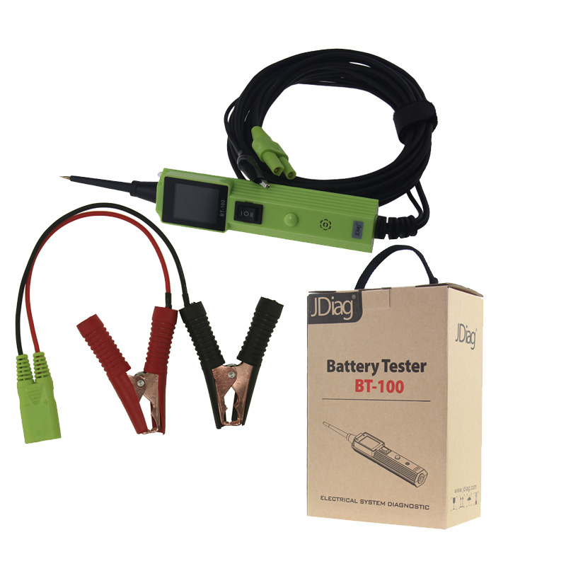 Super Quality Oringinal JDiag BT-100 Battery Tester BT-100 Electrical System Circuit Tester better than YD208 oringinal honeywell mk9520 lite grey stand
