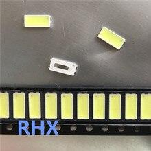 150 adet Samsung 7030 lamba boncuk 6v kullanılan LJ64 03479A LED aydınlatmalı kızak 2012SGS55 7030L 80 TV arka ışık şerit onarım