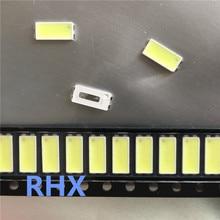150pcs FÜR Samsung 7030 lampe perle 6v Verwendet in LJ64 03479A Led hintergrundbeleuchtung SCHLITTEN 2012SGS55 7030L 80 TV Hintergrundbeleuchtung streifen Reparatur