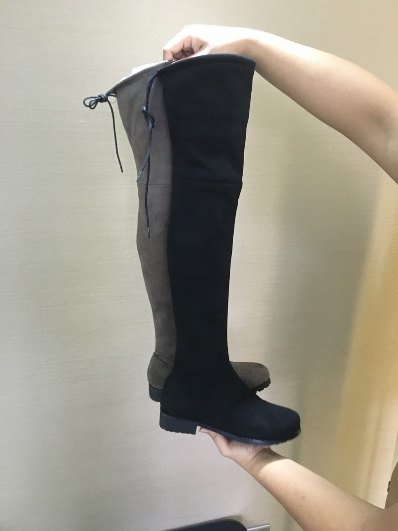 Women Over The Knee Boots Suede Thigh High Boots