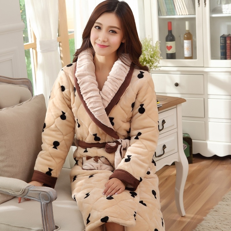 2014 new winter lovers thick bathrobes men and ladies upscale warm 2014 new winter lovers thick bathrobes men and ladies upscale warm cozy quilted robe bathrobe couple in robes from womens clothing accessories on sciox Image collections