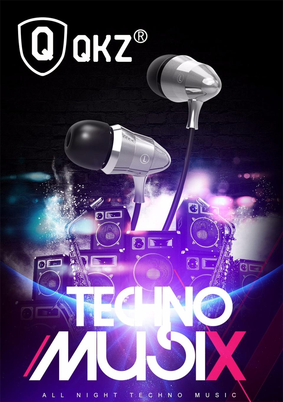 QKZ X6 אוזניות fone דה ouvido HIFI חום אוזניות In-ear אוזניות מקצועיות איכות צליל כבד בס auriculares Q מרגיש
