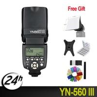 100%Original Yongnuo YN 560III Professional Flash Speedlight Flashlight Yongnuo YN 560 III for Canon Nikon Pentax Olympus Camera