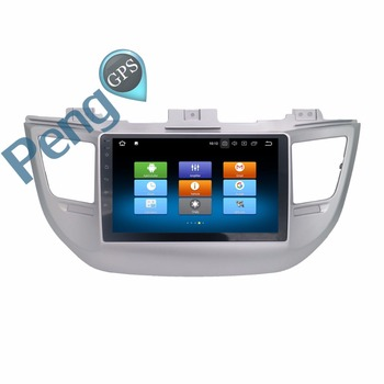 Octa Core 8 Core 2 Din Stereo DVD Player Android 8.0 Car Radio for Hyundai Tucson 2014 2015 2016 2017 Auto GPS Navigation Unit image