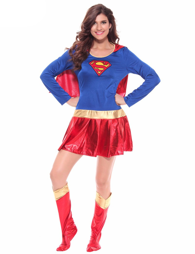 Popular Superwoman Fancy Dress-Buy Cheap Superwoman Fancy Dress Lots From China Superwoman Fancy Dress Suppliers On Aliexpresscom-4772