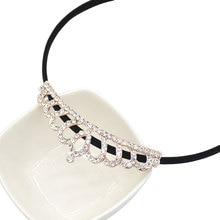Fashion Artificial Crystal Tiara Crown Children Headdress Bridal Prom Elegant Hair  Accessories