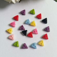 300pcs/lot  Mixed color 6mm Mini Tiny Plastic Buttons Sewing Doll Clothes Button Embellishments Scrapbook Cardmaking