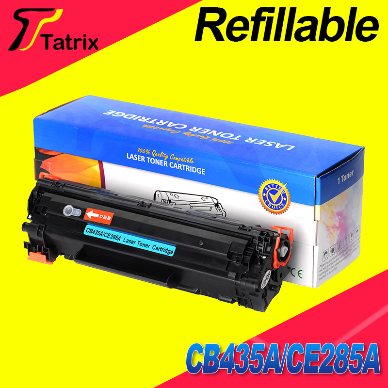 CE285A For HP 285A Refillable Toner Cartridge Compatible For HP LaserJet P1100/P1102/P1102W/M1132/M1210/M1212nf/M1214nfh картридж для принтера befonfor crg 525 725 925 toner cartridge hp ce285a 285 285a 85a hp laserjet p1102 1102w m1132 1212 1214 1217 for lbp 6000 3010 ce285a