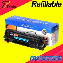CE285A для HP 285A многоразового картриджа совместимый для hp laserjet P1100/P1102/P1102W/M1132/M1210 /M1212nf/M1214nfh