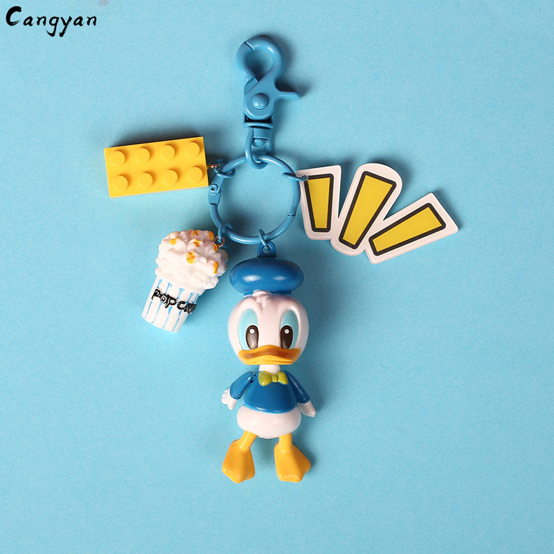 Image 5 - Cute Animal Toy Duckling Pendant Cute Creative Gift Bag Accessories Popcorn Lollipop Kids Prize Couple Toys-in Plush Wall Stuff from Toys & Hobbies