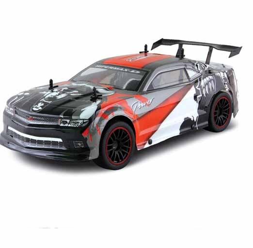 Kingtoy высокоскоростная 4 колесная радиоуправляемая скоростная Гоночная машина с Lights2.4G большой пульт дистанционного управления скоростная А... - 2