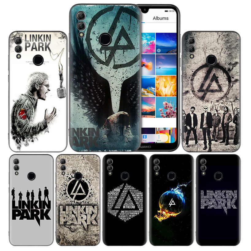 Linkin Park Black Silicone Case Cover for Huawei Honor 8X 8C 8A 8S 10 10i Lite Play V20 Y9 Y7 Y6 Y5 Prime 2018 2019