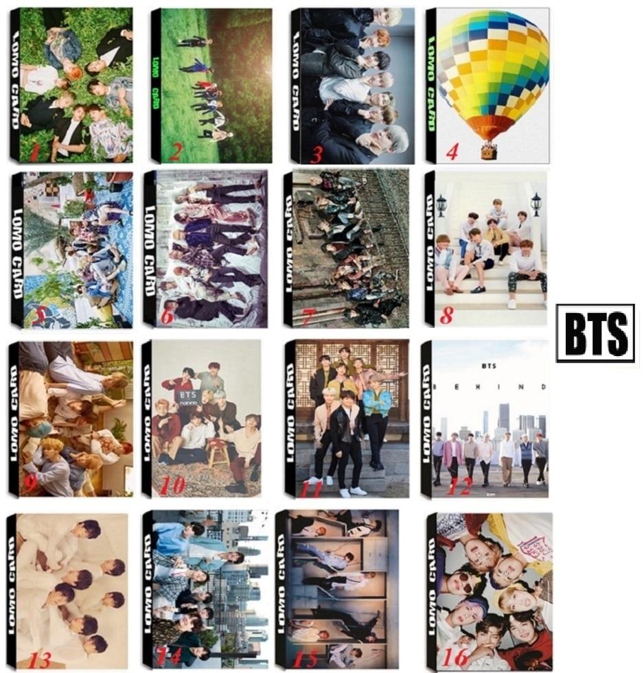30Pcs set font b KPOP b font BTS Bangtan Boys Team WINGS Answer Album 16 Design