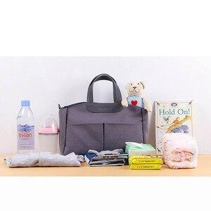 Image 2 - Mummy Diaper Bag Baby Stroller Organizer Baby Care Large Capacity  Diaper Bag Maternity Wet Bag Waterproof Stroller Accessori