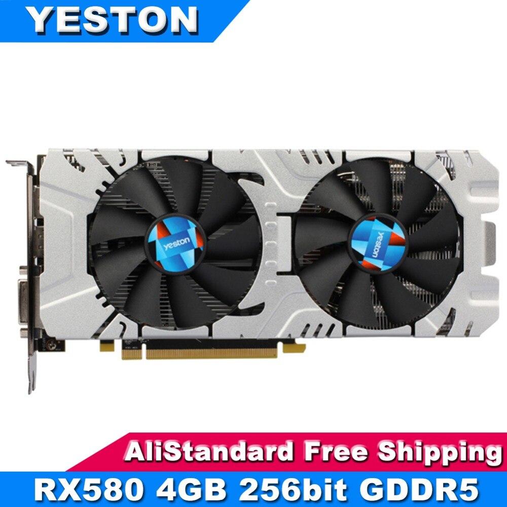 Yeston RX580 Graphics Card 256bit GDDR5 PCI-Express 3.0 Gami