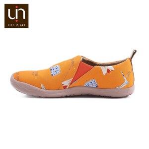 Image 5 - UIN Art zapatos informales pintados para hombre, zapatillas de lona, transpirables, de viaje