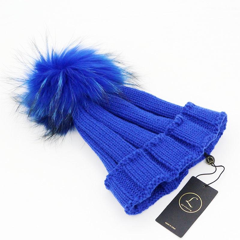2016 Ձմեռային մեծ մորթուց Pompom Fur Ball - Հագուստի պարագաներ - Լուսանկար 6