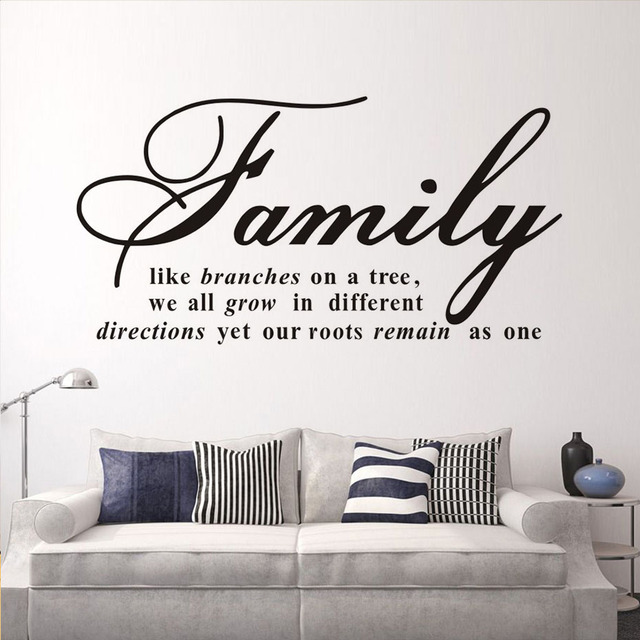 Aliexpresscom Buy Family Like Branches On A Tree Quotes Wall