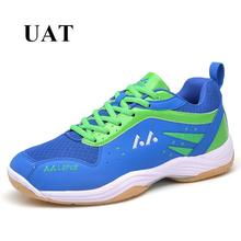 Original brand men badminton Shoes lace up light weight training Shoes non slip hombre sport tennis