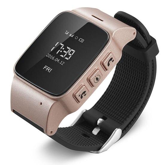 Fashion New Smart watch GPS Tracker Wrist Smartwatch Elder Wearable Device Anti lost Gps Lbs Wifi
