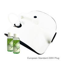 Vehicle Air Purifier Auto Fresh Cleaner Car Atomization Disinfectant Machine 220V EU PLUG+ 2X30ML Disinfectant Liquid