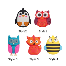 New style Cute bee penguin Fox Usb 2.0 Usb Flash Drive 4g 8gb flash card16gb 32g fox Pendrives real capacity U Disk Memory stick