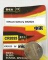 100% Japón original A Estrenar Al Por Mayor 5 unids/lote CR2025 DL2025 3 V litio Botón de la célula de la moneda batería para el Reloj calculadora
