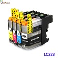 LC223 Compatible ink cartridge Brother DCP-J562DW/MFC-J480DW/MFC-J680DW/MFC-J880DW printer lc225 lc227 with chip full ink NEW