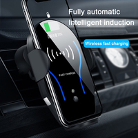 Car Holder 10W Qi Wireless Charger For iPhone X 8 8 Plus 10W Fast Wireless Car Charger Phone Holder For Samsung S8 S9 Plus S10