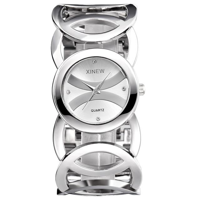 Элитный бренд Lady Gold Часы Для женщин полный Нержавеющаясталь Наручные часы Magic Для женщин браслет часы женские наручные часы девушка