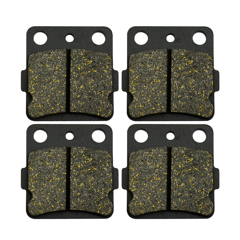 Motorcycle Parts Rear Brake Pads For YAMAHA YFM660 Grizzly 660 02-08 YFM600 Grizzly 600 98-01 YFM660R Raptor 660 01-04