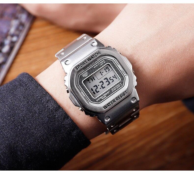 à prova dwaterproof água relógios masculinos relógio