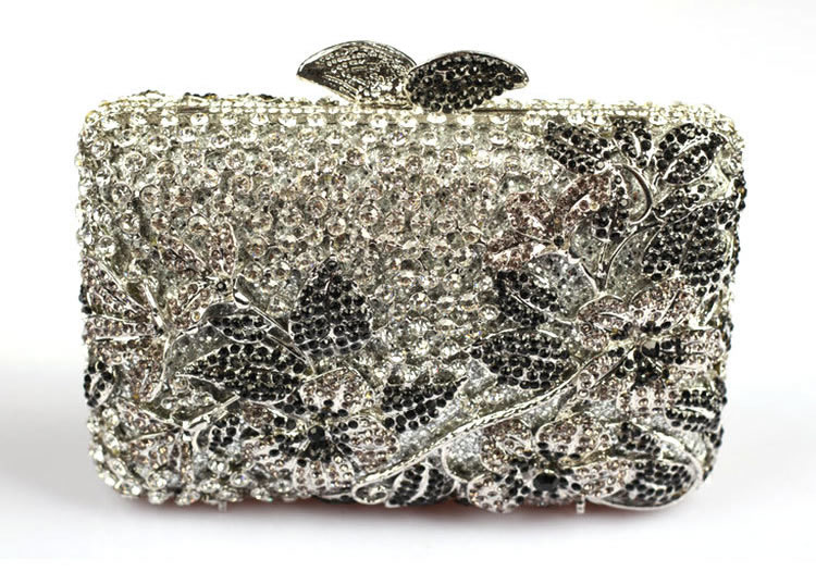 2017 Luxury Brand Bag Fl Designer Handbags Online Square Rhinestone Crystal Clutch Evening Bags For Women Tail In From Luggage