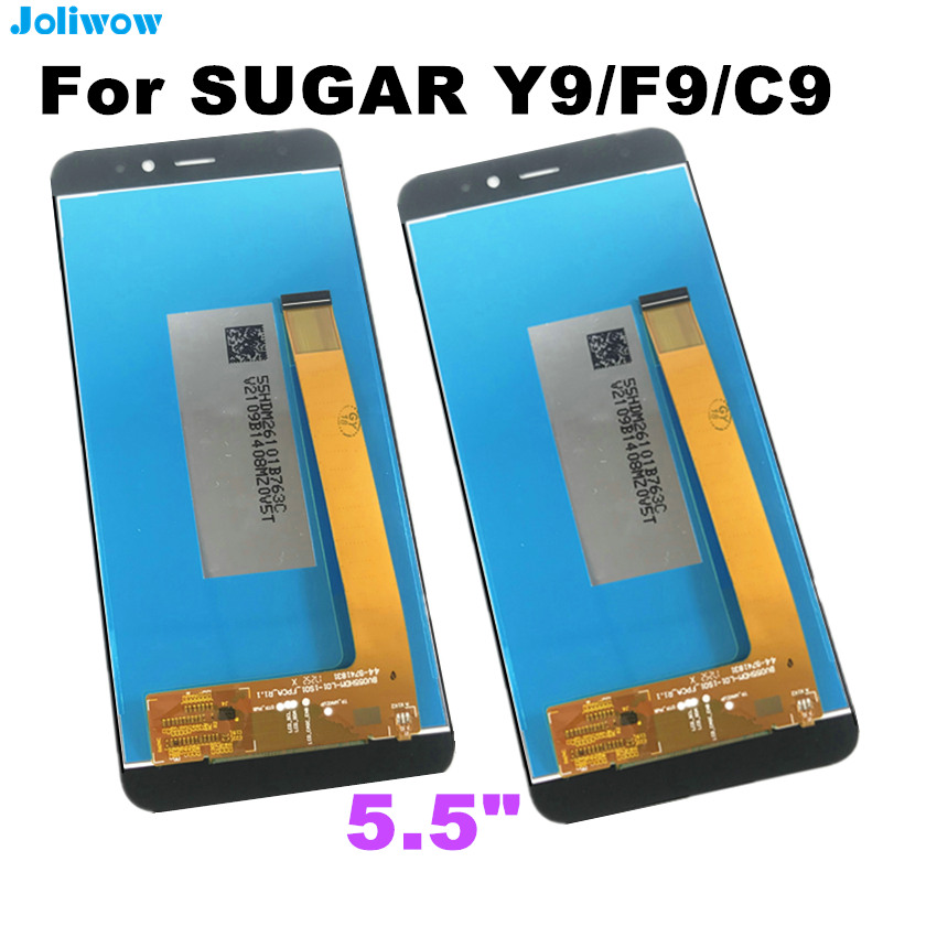 5 5 quot FOR SUGAR Y9 F9 C9 LCD Display Touch Screen Digitizer Assembly Replacement Accessories in Mobile Phone LCD Screens from Cellphones amp Telecommunications