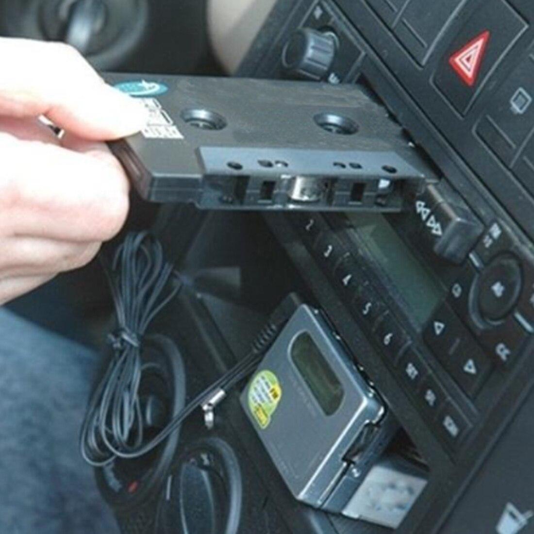 Marsnaska Mobil Kaset Tape Stereo Adaptor Konverter 35 Mm Casete Adapter Mp3 Mendongkrak Steker Untuk Ponsel Cd Pemutar Pintar Telepon Di Player Dari