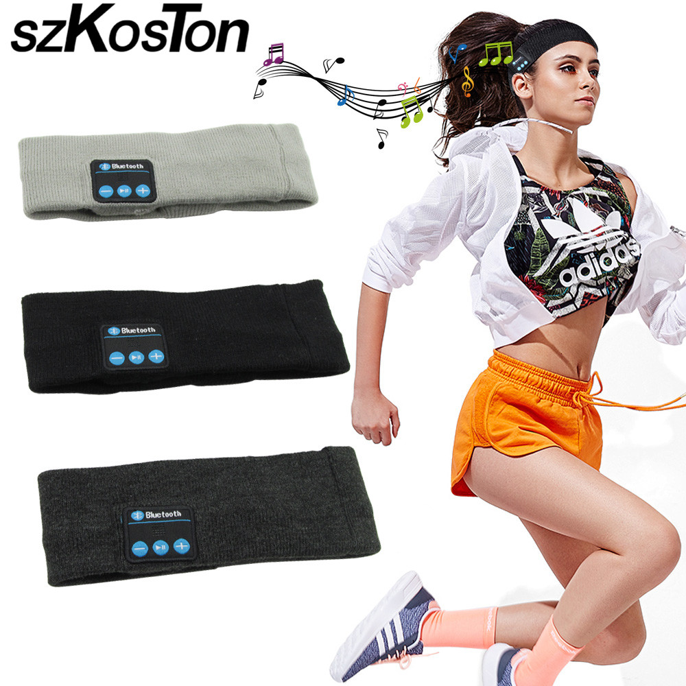 Draadloze bluetooth hoofdtelefoon sport smart cap headset handsfree - Draagbare audio en video - Foto 1