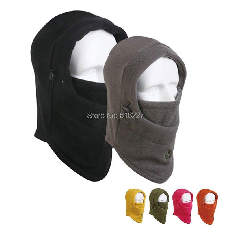 Hiver Ski Chapeau pour homme ou femme CS Équitation D'extérieur Escalade Moto Sport Caps Hommes/Femmes Chaud Polaire Chapeau à capuche Cap