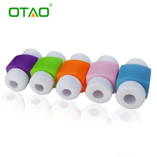 4PCS USB Data Cable Line Protector Phone Case Anti Breaking Protective Sleeve For Charging Cable for