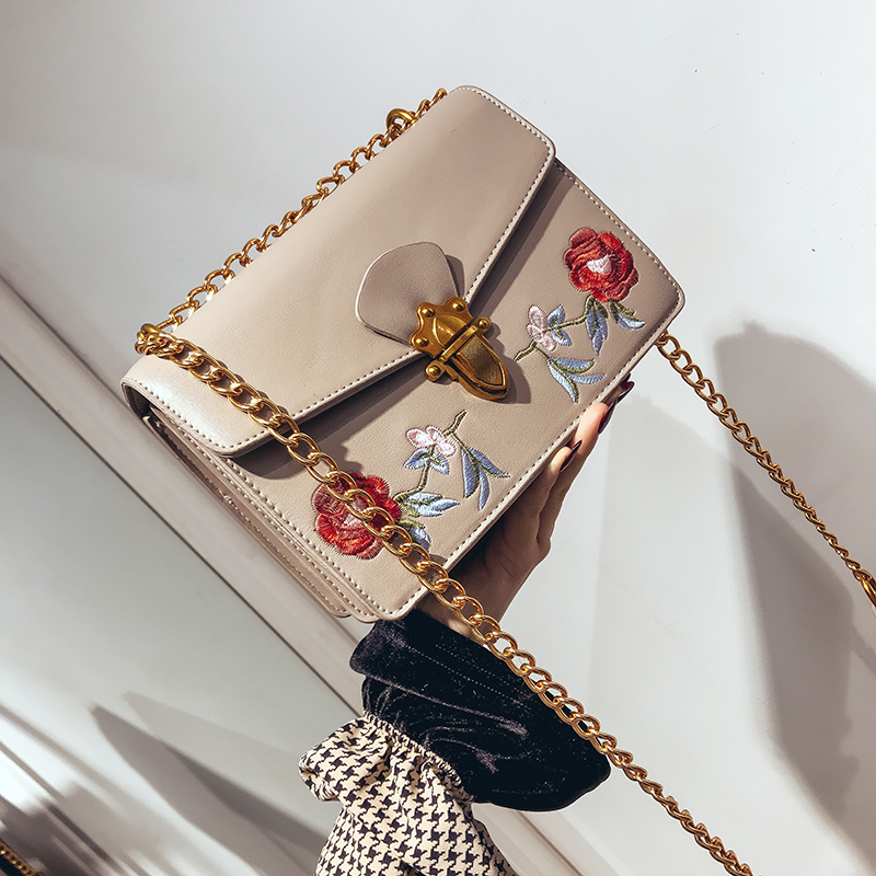 Luxury Handbags Women Bags Designer Shoulder Evening Clutch Embroidery Chain Messenger Small Crossbody Bags For Women 2018 taliayh luxury handbags women bags designer fashion brand chain evening clutch bag female messenger crossbody bags for women