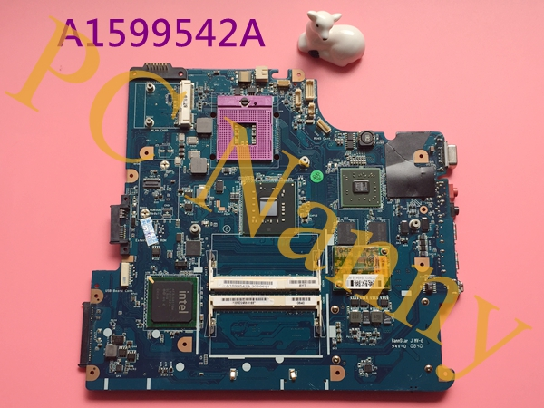 A1599542A MBX-195 M790 LAPTOP MOTHERBOARD FOR SONY Vgn-ns12m Pcg-7141m Non-Integrated PM45 DDR2