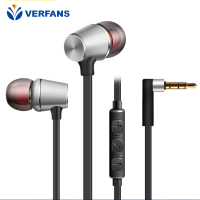 In-Ear Earphone Headset In-line Control Magnetic Clarity Stereo Sound With Mic Earphones For iPhone Mobile Phone MP3 MP5