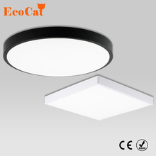 LED Ceiling Light 15W 18W 20W 28W Modern Lamp Living Room Lighting Fixture Bedroom Kitchen Surface Mount Flush Panel Light