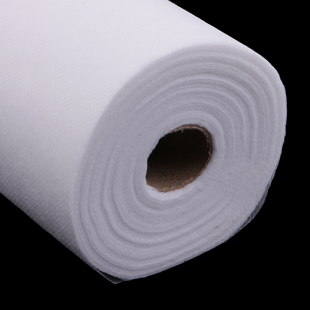 2 Roll 100 Sheets Portable Waterproof Non-Woven Headrest Paper Sheets for Massage Tattoo Table Anti-oil 50x70cm