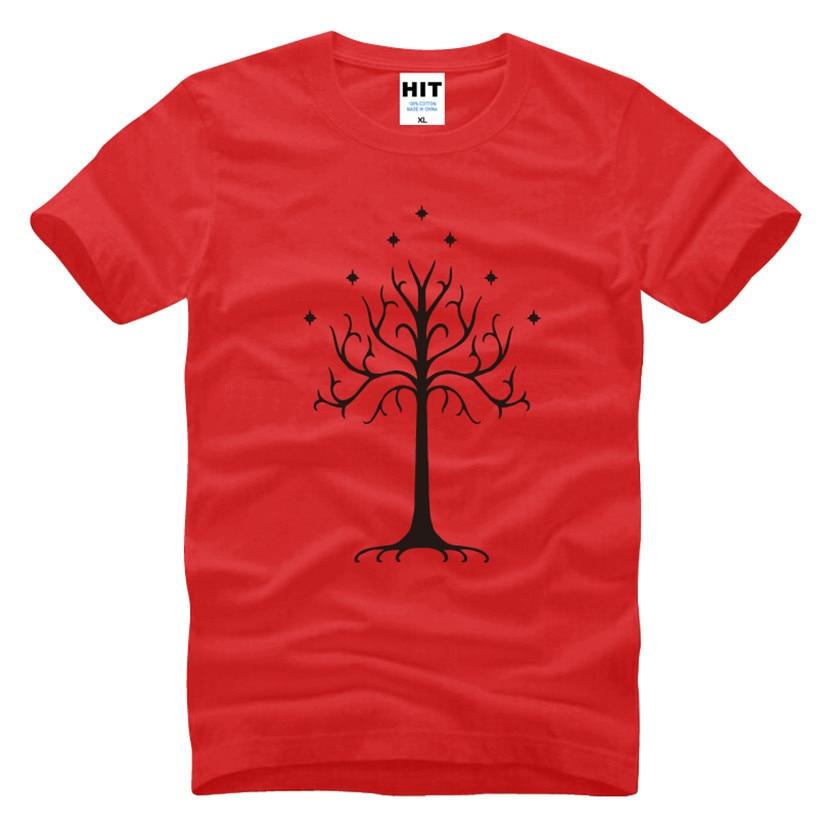Tree of Gondor Lord of the Rings Movie heren T-shirt T-shirt voor - Herenkleding