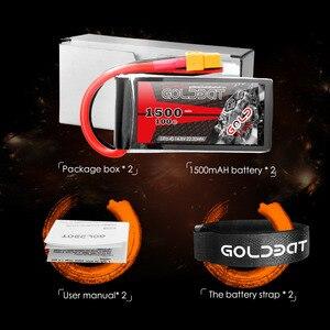 Image 5 - 2units Goldbat Lipo Battery 1500mah 14.8v 4s Lipo Battery 100c Lipo Battery 100c With XT60 Plug For Drone Fpv Rc Truck Airplane