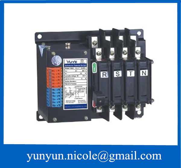 32a 3p 220v 380v auto changeover switch automatic transfer switch32a 3p 220v 380v auto changeover switch automatic transfer switch for generator