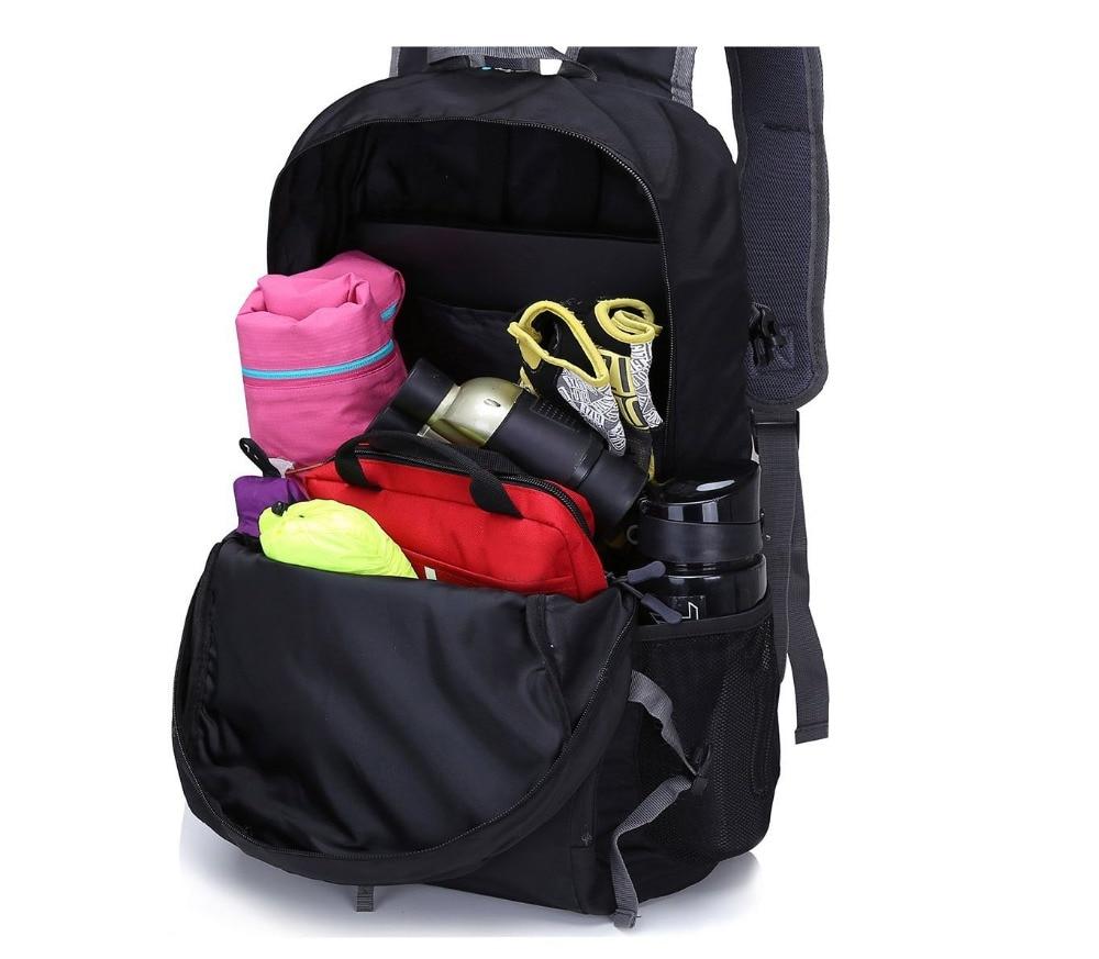 Black blue Piccola Camping Zaino Packable Color Borsa Pieghevole Daypack Color Outdoor Piccolo Viaggio Reebow Leggero Escursionismo Nylon Tattico Sport qgOTZ