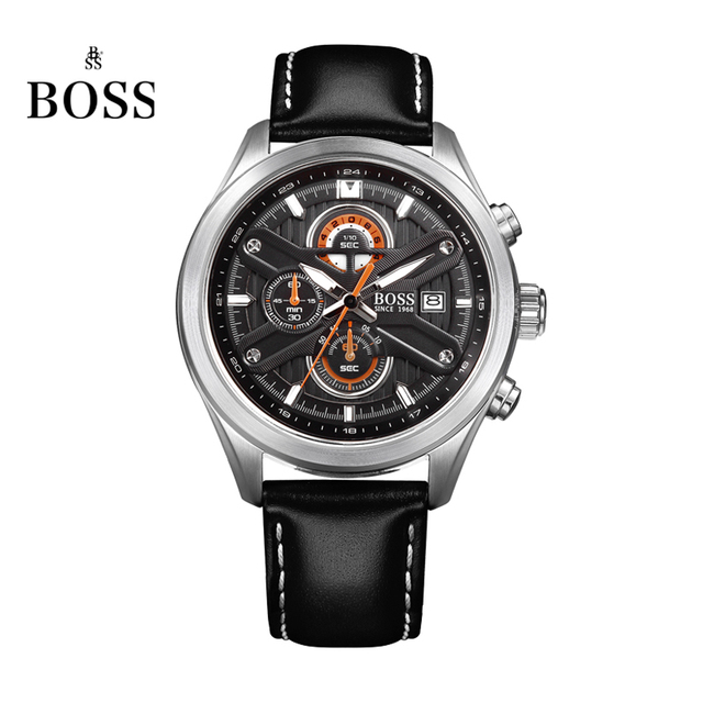 1460c4db8d0a Boss allemagne montres hommes marque de luxe vitesse maître nurburgring  série chronographe montre lumineux noir relogio