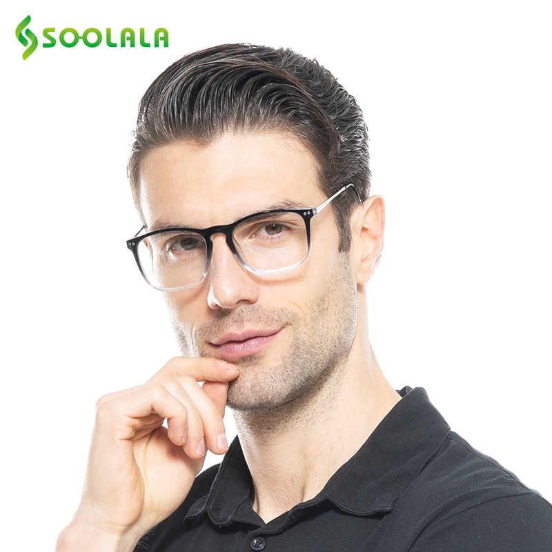 ae713202c6 SOOLALA Oversized Womens Mens Full Rimmed Reading Glasses Large Horn Clear  Lens Eyeglass Frame Reading Glass +0.5 1.5 2.5 to 4.0