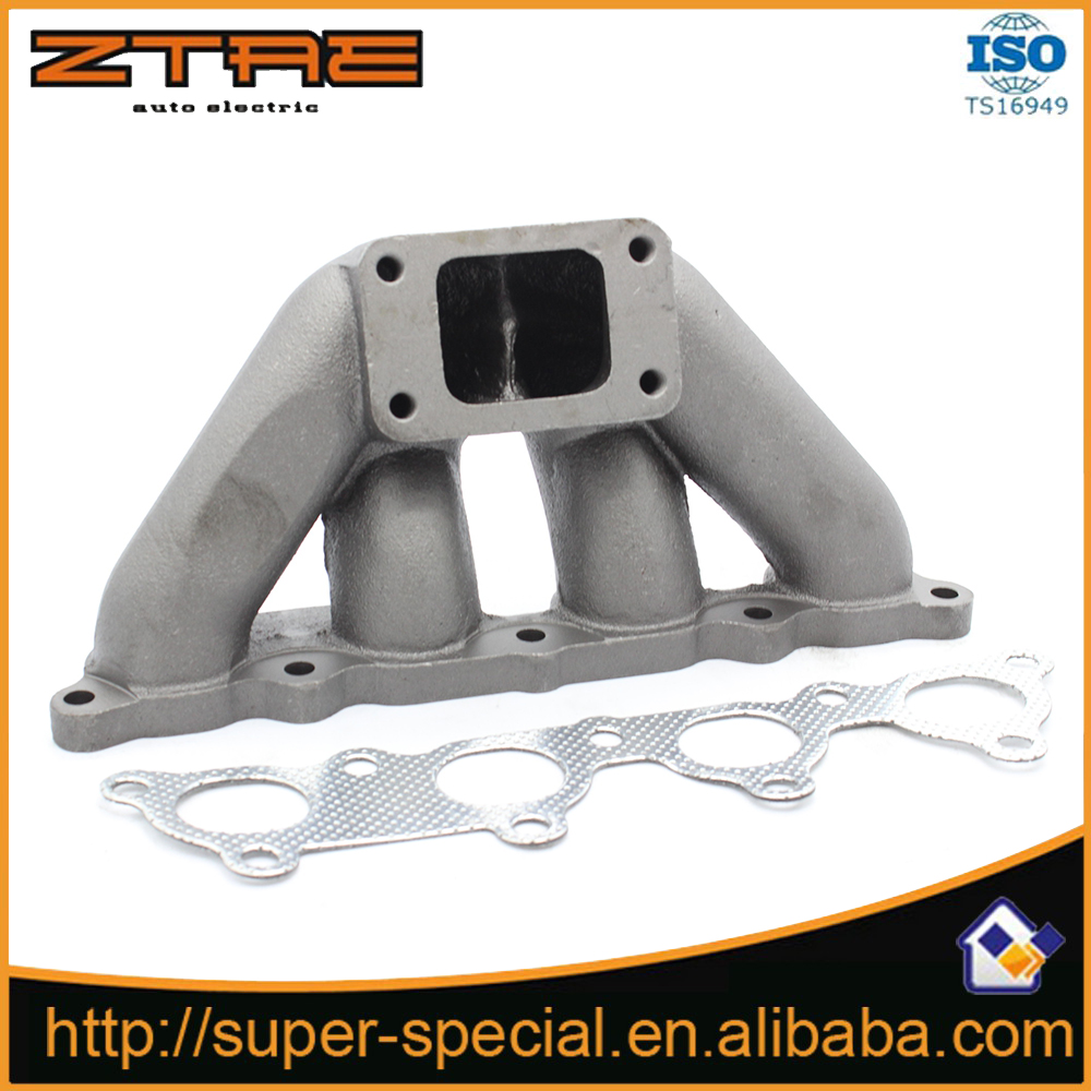 D-Series SOLID CAST STAINLESS TURBO MANIFOLD For 88-00 Hond@ CRX D15/D16 Engine